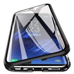 Etui Magnetyczne Front+Back Galaxy S8 - Black