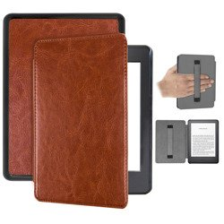 Etui Smart z uchwytem Kindle 10 2019 - Brown