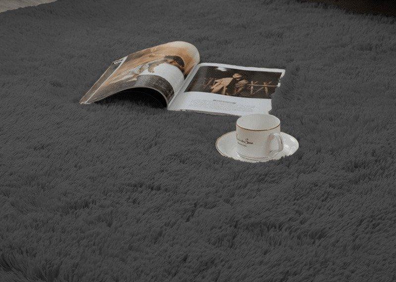 Dywan pokojowy Shaggy Strado 120x170 GreyNight (Ciemny szary)