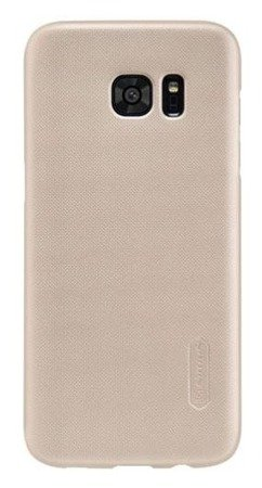 Etui Nillkin Frosted Shield Samsung Galaxy S7 Edge - Gold