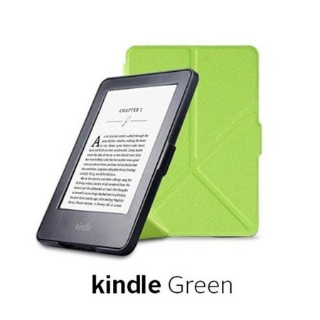 Etui Origami Case Kindle Paperwhite 1/2/3 - Green
